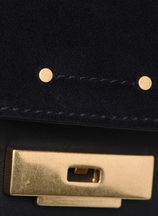Bolsos de mano Vanessa Bruno Day Clutch Azul vista lateral izquierda
