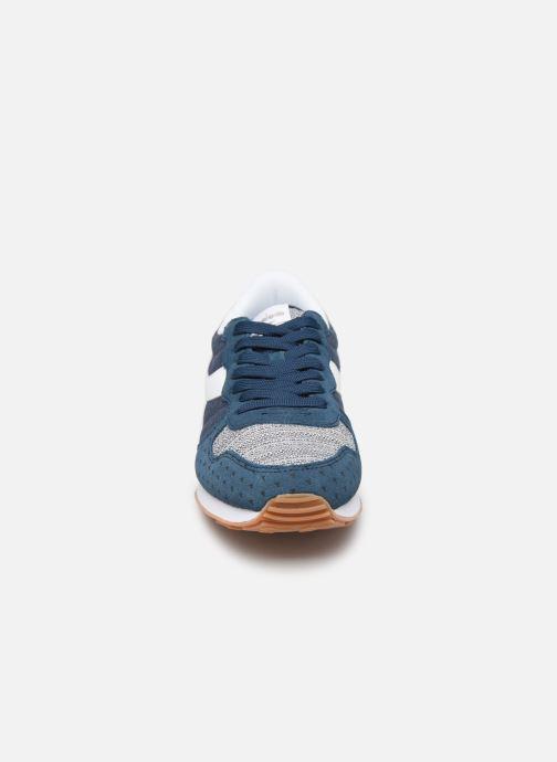 Baskets Diadora Camaro Summer Bleu vue portées chaussures