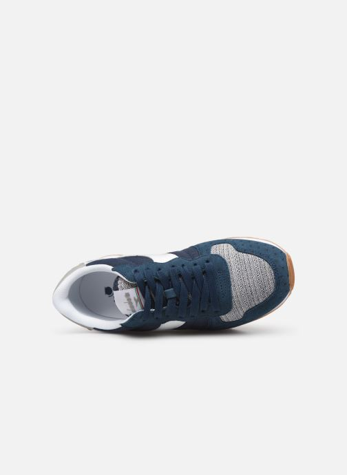 Baskets Diadora Camaro Summer Bleu vue gauche