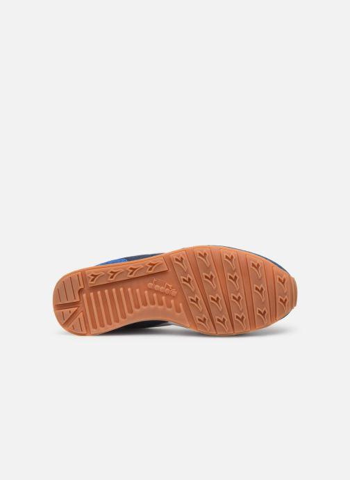 Baskets Diadora Camaro Summer Bleu vue haut
