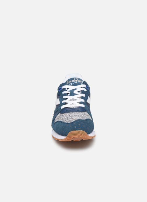 Baskets Diadora N9000 Summer Bleu vue portées chaussures