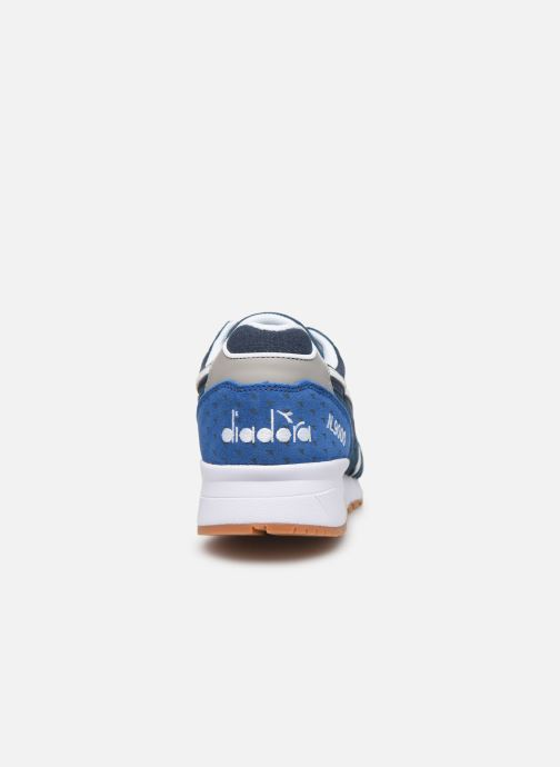 Baskets Diadora N9000 Summer Bleu vue droite