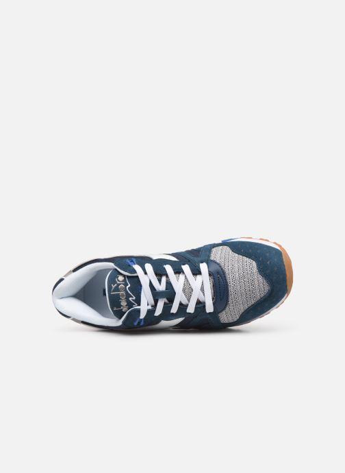 Baskets Diadora N9000 Summer Bleu vue gauche