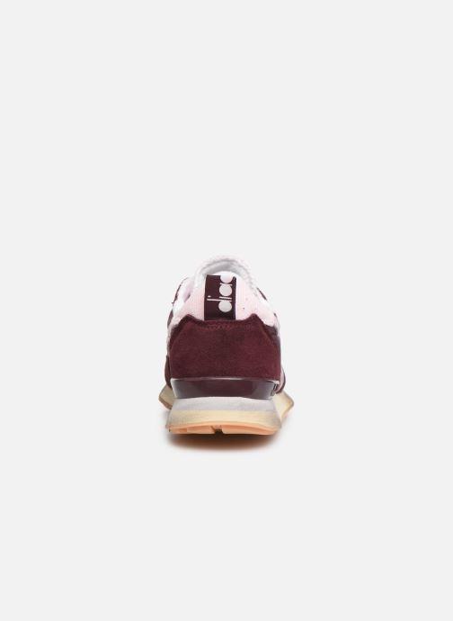 Sneakers Diadora Camaro Wn Used Bordeaux rechts