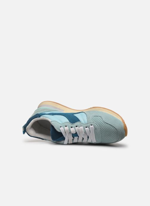 Trainers Diadora Camaro Wn Used Blue view from the left