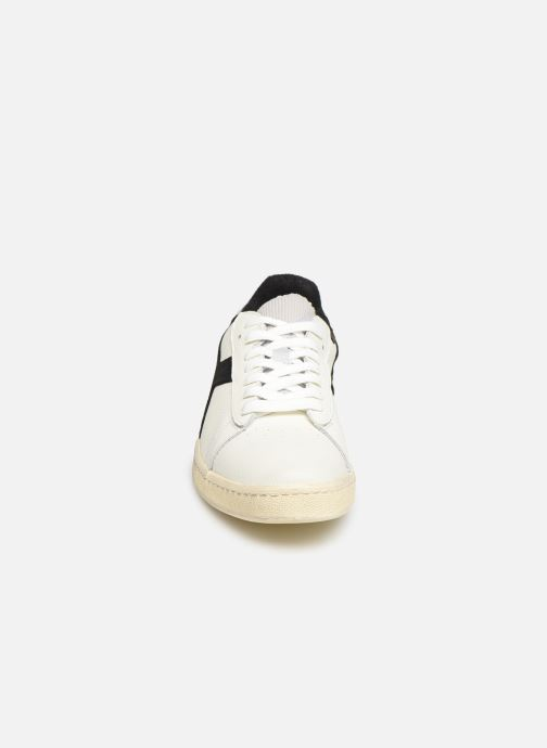 Sneakers Diadora Game L Low Used Bianco modello indossato