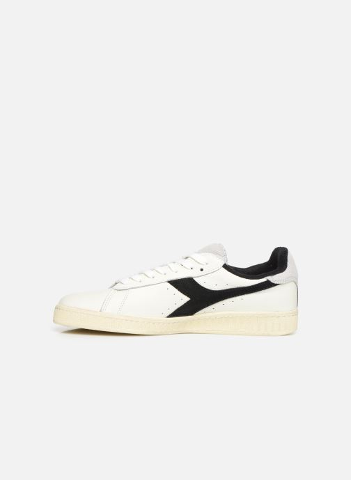 Baskets Diadora Game L Low Used Blanc vue face