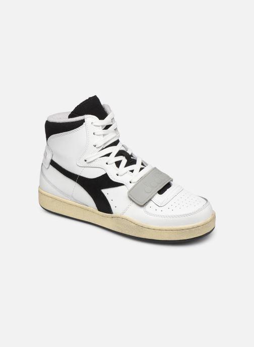 Sneakers Diadora Mi Basket Used Bianco vedi dettaglio/paio