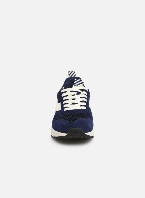 Baskets Diadora Titan Reborn Barra Bleu vue portées chaussures