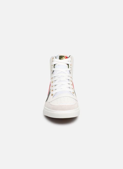 Sneaker Hummel Stadil Limited High Leather weiß schuhe getragen