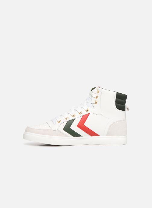 Sneaker Hummel Stadil Limited High Leather weiß ansicht von vorne