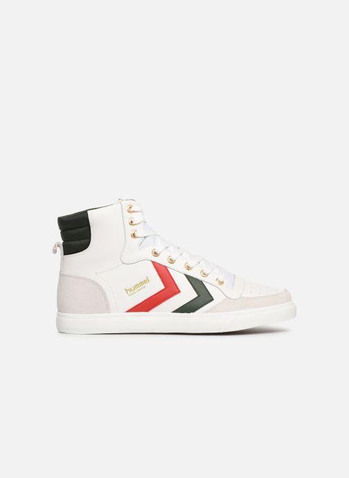 Sneaker Hummel Stadil Limited High Leather weiß ansicht von hinten