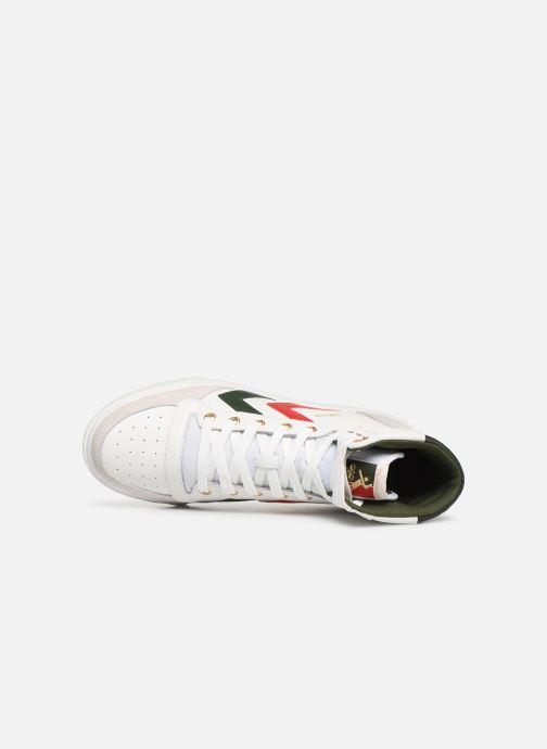 Sneaker Hummel Stadil Limited High Leather weiß ansicht von links