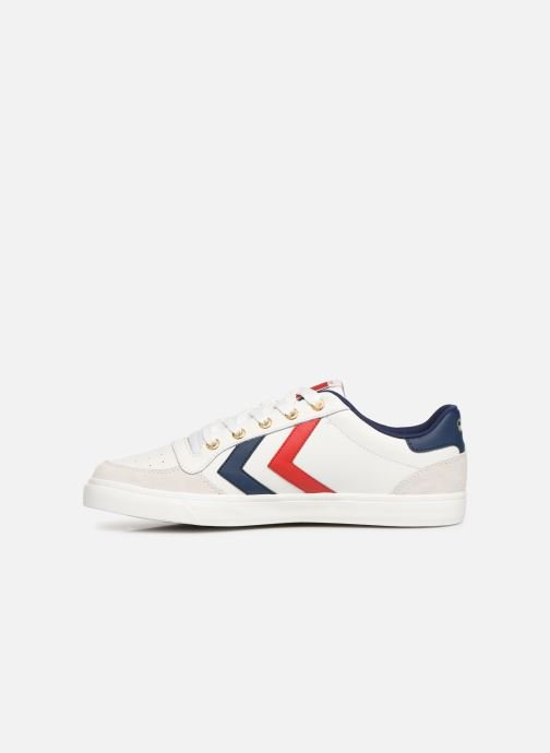 finest selection 70b89 0fa2d Hummel Stadil Limited Low Leather (White) - Trainers chez ...
