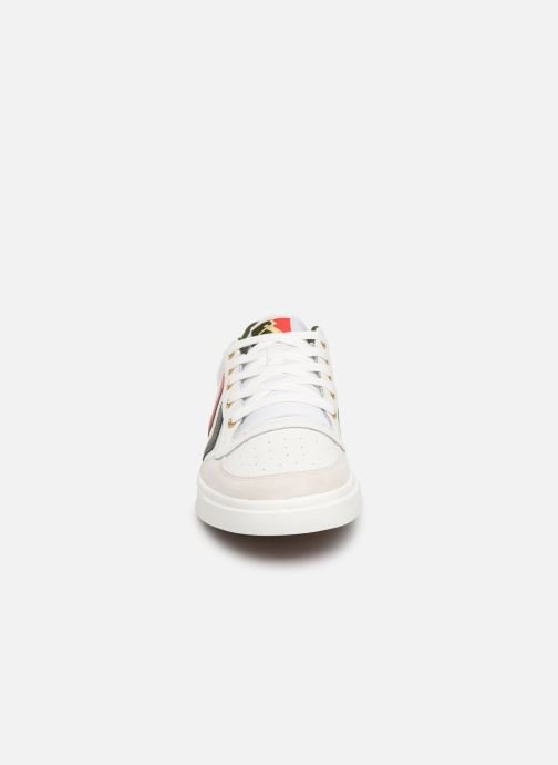 Baskets Hummel Stadil Limited Low Leather Blanc vue portées chaussures