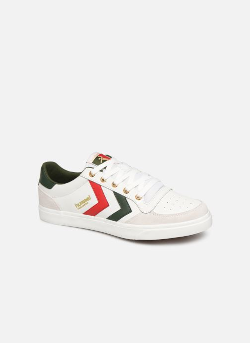 Baskets Hummel Stadil Limited Low Leather Blanc vue détail/paire