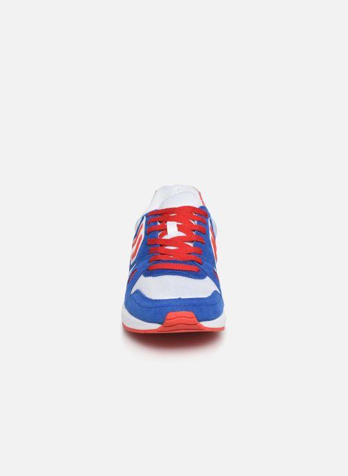 Deportivas Hummel Legend Marathona Azul vista del modelo
