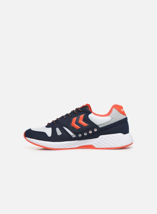 Sneaker Hummel Legend Marathona blau ansicht von vorne