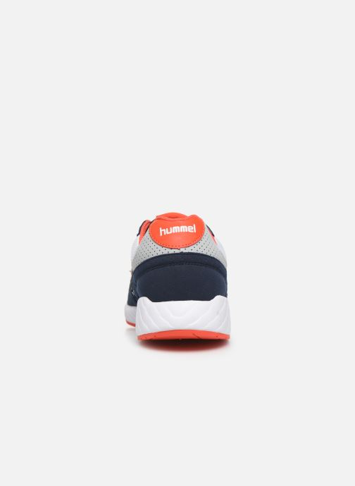 Sneaker Hummel Legend Marathona blau ansicht von rechts