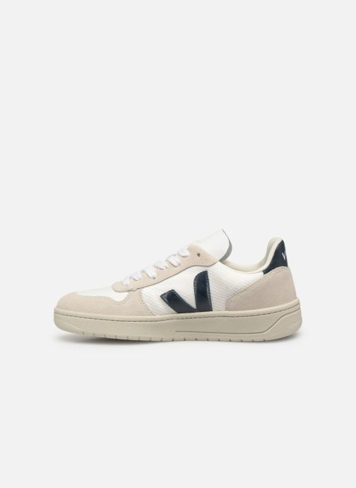 Sneaker Veja V-10 Wn weiß ansicht von vorne