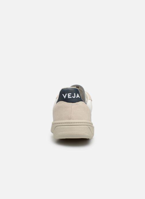 Sneaker Veja V-10 Wn weiß ansicht von rechts