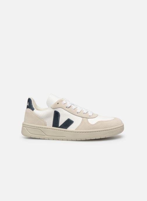 Sneaker Veja V-10 Wn weiß ansicht von hinten