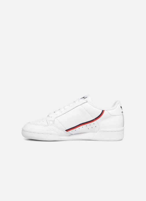 Baskets Adidas Originals Continental 80 W Blanc vue face
