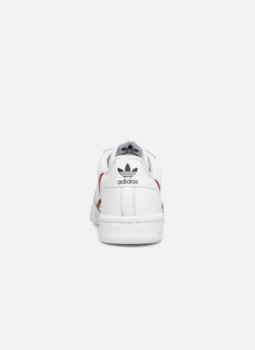 Trainers adidas originals Continental 80 W White view from the right