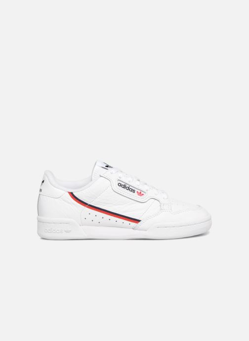 Baskets adidas originals Continental 80 W Blanc vue derrière
