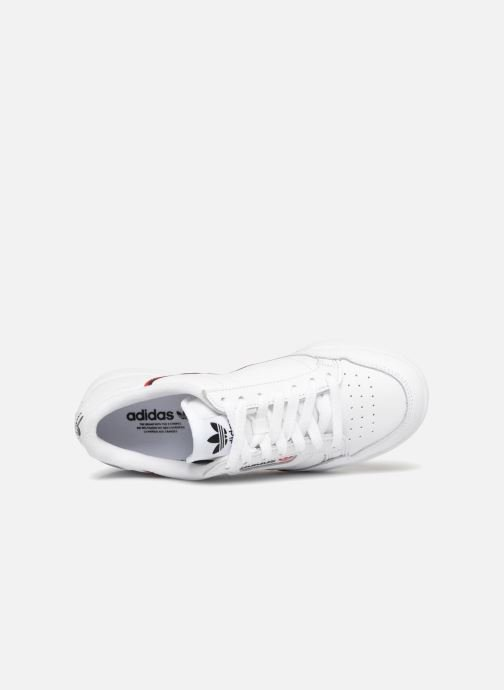 Baskets Adidas Originals Continental 80 W Blanc vue gauche