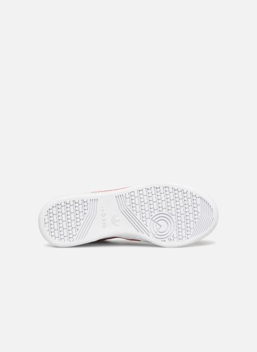 Trainers adidas originals Continental 80 W White view from above