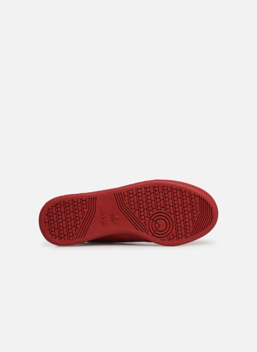 Sneaker adidas originals Continental 80 W rot ansicht von oben