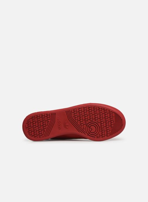 Baskets Adidas Originals Continental 80 W Rouge vue haut