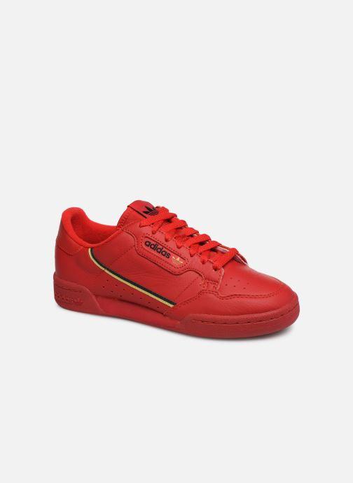 Sneaker adidas originals Continental 80 W rot detaillierte ansicht/modell