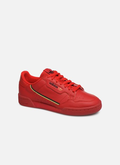 Baskets adidas originals Continental 80 W Rouge vue détail/paire