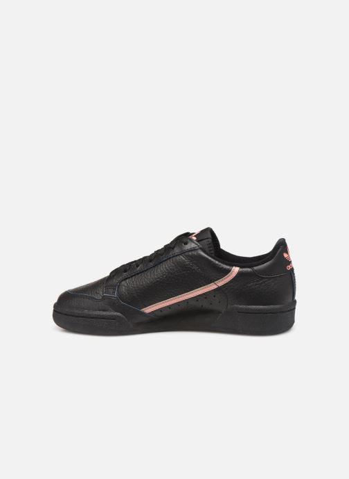 Sneaker Adidas Originals Continental 80 W schwarz ansicht von vorne