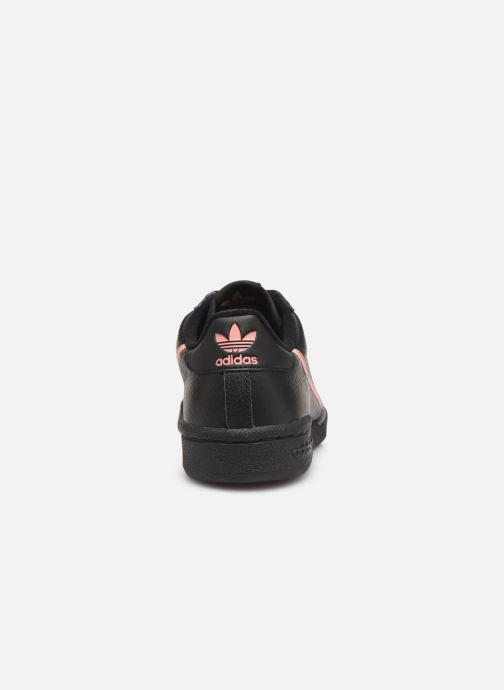 Sneakers adidas originals Continental 80 W Sort Se fra højre