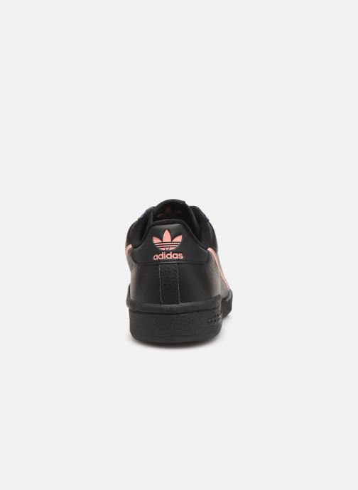 Sneaker Adidas Originals Continental 80 W schwarz ansicht von rechts