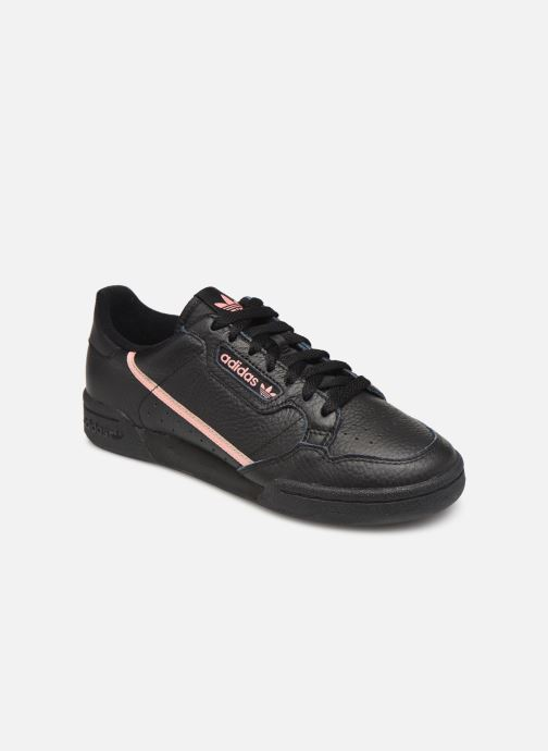 Baskets adidas originals Continental 80 W Noir vue détail/paire