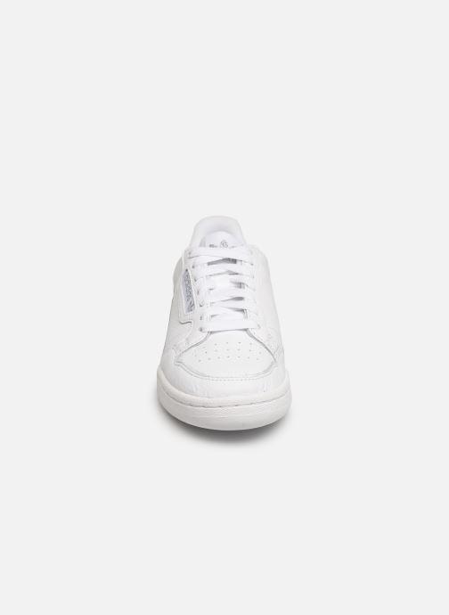 Sneaker adidas originals Continental 80 W weiß schuhe getragen