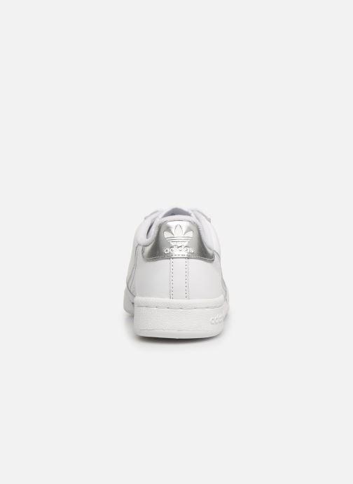 Baskets adidas originals Continental 80 W Blanc vue droite