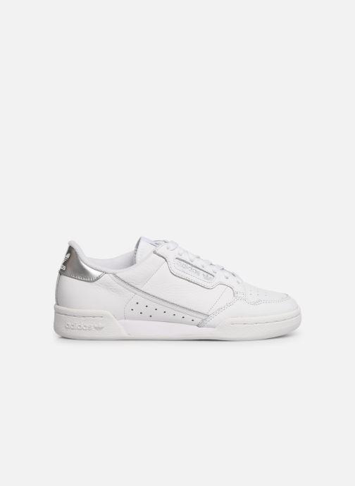Sneaker adidas originals Continental 80 W weiß ansicht von hinten