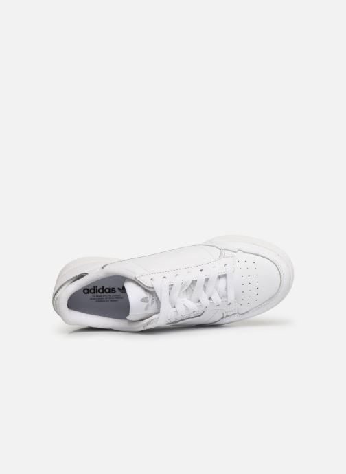 Sneakers adidas originals Continental 80 W Hvid se fra venstre
