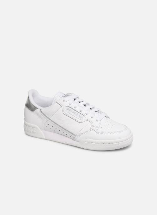 Baskets adidas originals Continental 80 W Blanc vue détail/paire