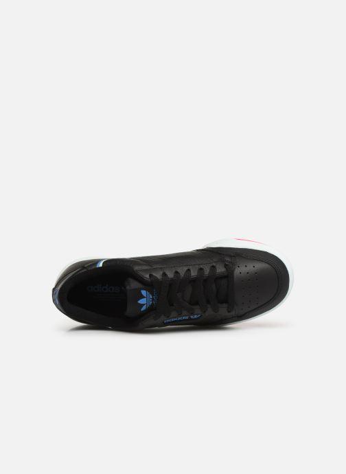 Baskets adidas originals Continental 80 W Noir vue gauche