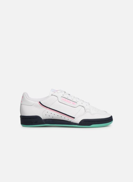 Trainers adidas originals Continental 80 W White back view