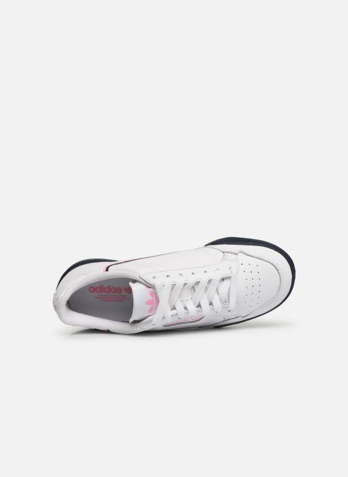 Sneaker adidas originals Continental 80 W weiß ansicht von links