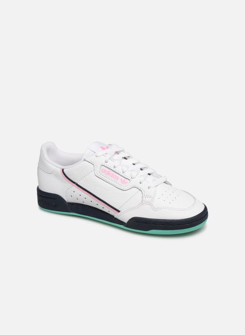 Trainers adidas originals Continental 80 W White detailed view/ Pair view