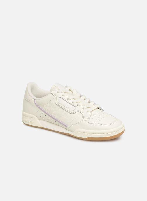 new style d8f3b 0c1be Baskets adidas originals Continental 80 W Blanc vue détailpaire
