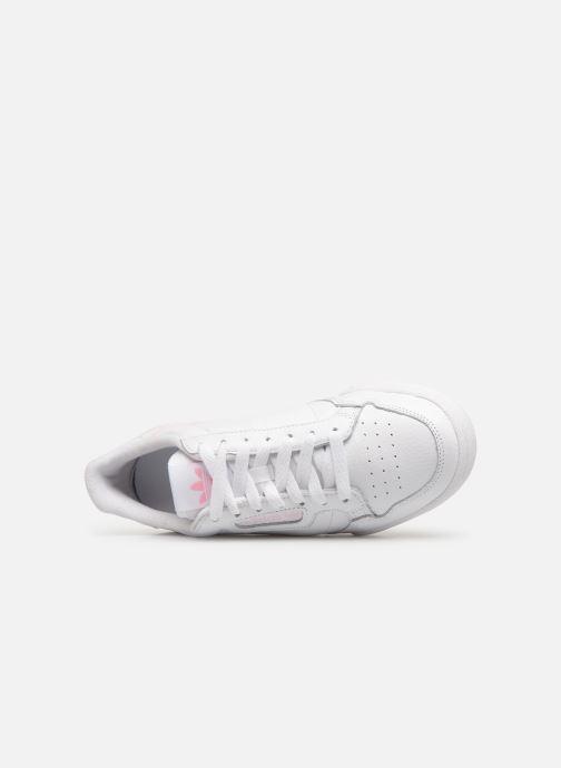 Baskets adidas originals Continental 80 W Blanc vue gauche